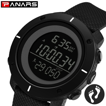 PANARS Sport Watch Top Brand Luxury Men LED Digital Military Watch 50M Waterproof Sports Watches Wristwatch Mens Digital Watches