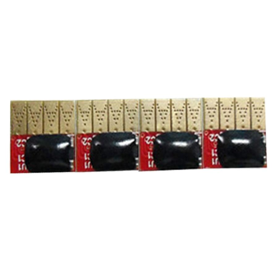 1Set Auto reset  ARC chip 4 color for HP711 for HP 711 Designjet T120 T520