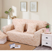 Removable Stretch Sofa cover Big Elasticity Couch cover Funiture Cover flower Design 4 Colors- Machine Washable