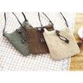 2016 Handmade Women Casual Shoulder&Crossbody Bags Rattan Beach Handbags Lady&Girls Rope Woven Bags Straw Handbag SL0386