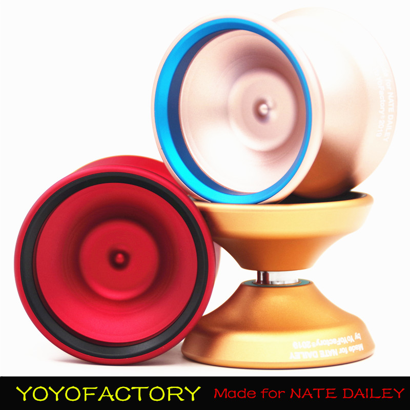 2019 New Arrive YYF BiND YOYO Professional Metal YOYO Made for NATE DAILEY