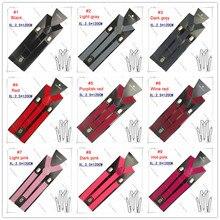 BD001-XL-10pcs/lot Großhandel Großen größe XL Unisex Strumpf 2,5*120 cm 32 Feste farben Männer Hosenträger Elastischen Y-zurück Hosenträger
