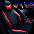 Cuero del asiento de coche especial cubre Para SsangYong Korando Actyon Kyron Rexton Presidente del coche accesorios car styling