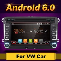 Android 6 0 7 2din Car DVD For VW POLO GOLF 5 6 POLO PASSAT B6