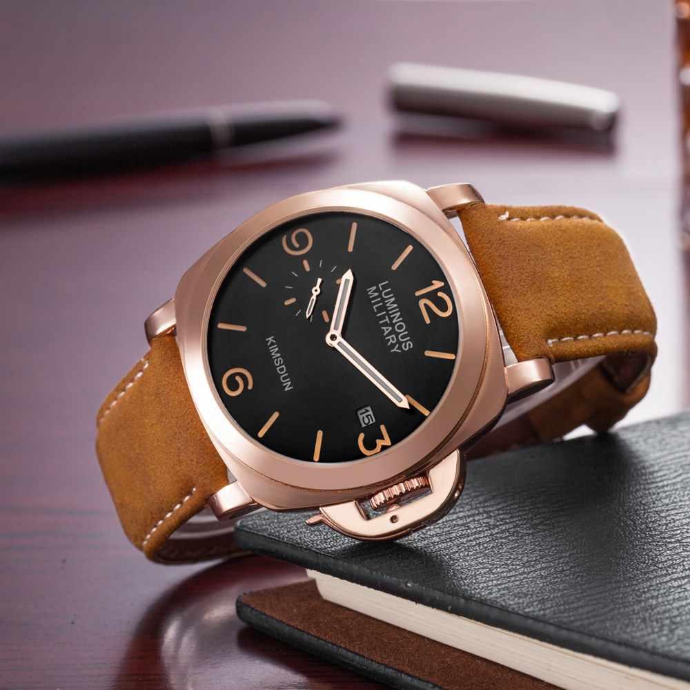 Mode Luxus Marke Sport Uhr Männer Wasserdichte Quarz Leder Military Armbanduhr Männer Armee Uhr Männlichen uhren hombre hodinky