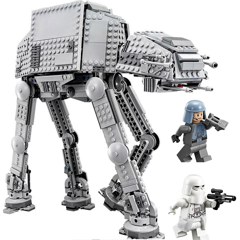 Star Wars Series AT-AT Armored Transport Walker Building Blocks 1206pcs Bricks Toys Gift Compatible With Legoings Star War 75054 mylb new 499pcs new star wars at dp building blocks toys gift minis rebels animated tv series compatible drop shipping