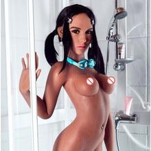 סקס בובות 158cm #52 מלא TPE עם שלד למבוגרים יפני אהבת בובת נרתיק מציאותית מציאותי סקסי בובה עבור גברים
