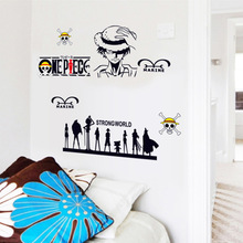 One Piece Wall Sticker Decal Art