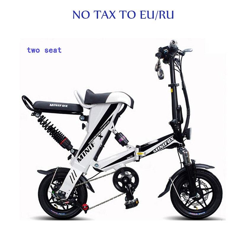Roller Mini Falten Roller E-bike Tragbare Faltbare Elektrische Fahrrad Fahrrad Bürstenlosen Motor Lithium-batterie Leichte Rollschuhe, Skateboards Und Roller