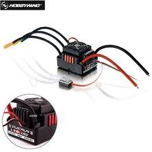 Hobbywing Quicrun 8BL150, бесщеточный, водонепроницаемый, Бесконтактный, 150A ESC, гусеничный Рок ESC для автомобиля 1/8 Rc