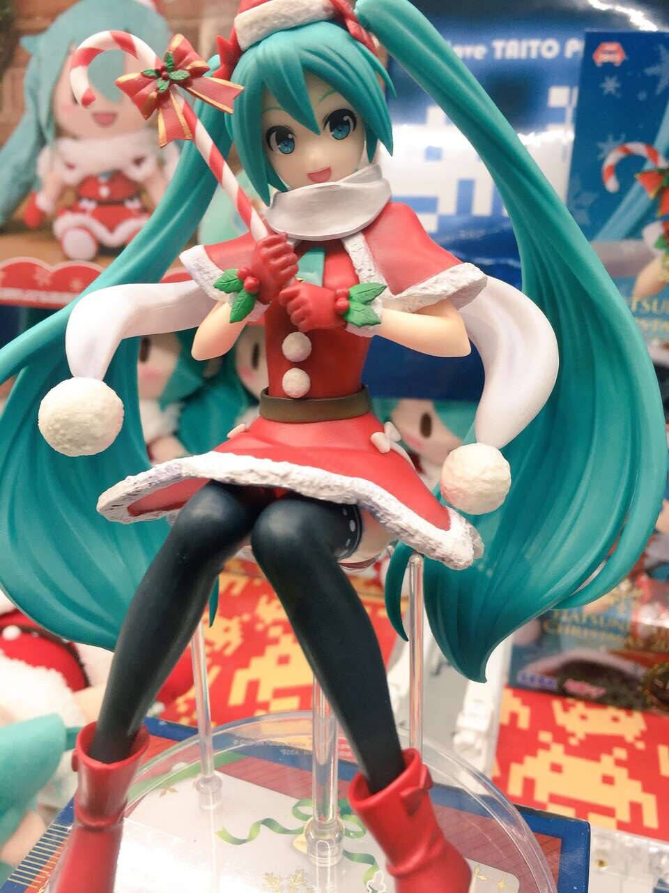 Hatsune Miku Christmas.Us 25 28 50 Off Original Japanese Anime Figure Hatsune Miku Christmas Ver Action Figure Collectible Model Toys For Boys In Action Toy Figures From