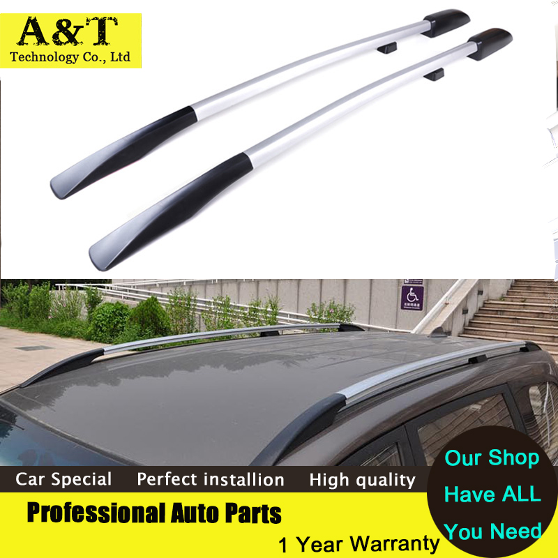 car styling Universal Car Styling Roof Racks Side Rails Bars Luggage Carrier Baggage Holder Aluminum Alloy Auot Accessories car styling auto roof rack side rails bars baggage holder luggage carrier aluminum alloy for ford escape kuga 2013 2014 2015