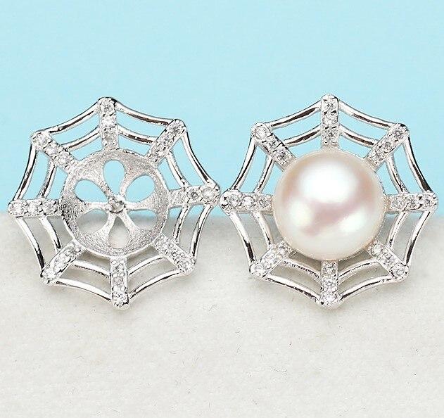 Trendy Pearl Earrings Mountings, Beautiful Hot Wholesale Earrings Findings, Earrings Settings Jewelry Stud Earrings Accessories-in Jewelry Findings & Components from Jewelry & Accessories    1