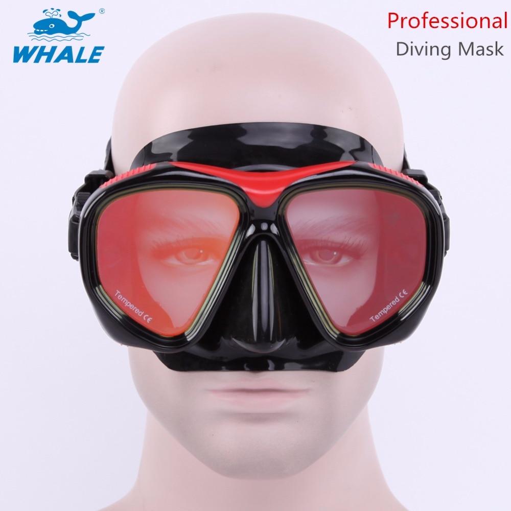 BALEIA Máscara de Mergulho, Máscara de Mergulho com a Cor do Chapeamento de  lentes Panorâmica Visão Ampla para Mergulho Mergulho Natação MM200 e62bee8a88