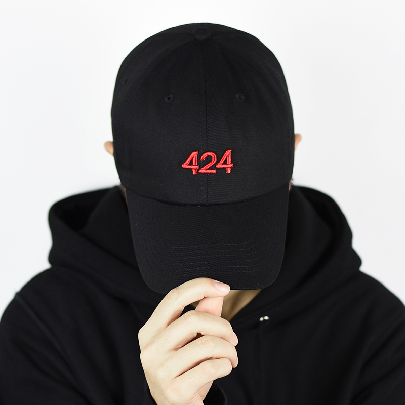 2018 fear of god men women caps OIL MONEY 424 kanye west hip hop baseball cap streetwear justin bieber snapback bone gorras htas