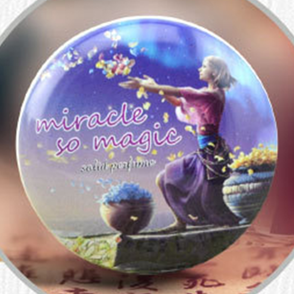 1 PC 15g Solid Perfume Lasting Eau De Toilette High Quality Magic Solid Deodorant Solid Fragrance For Women Men