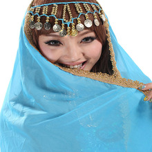 Headpiece-Costumes Dance-Face Belly Scarf Veil Chiffon And Shawl