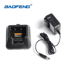 Baofeng UV-5R charger dadpter for two way radio portable radio vhf uhf dual band 136-174 400-520MHZ baofeng uv 5r Walkie Talkie