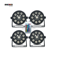 4pcs Lot 9X10W 1X30W RGB Controller Light 3IN1Stage DJ Light DMX Led Par Bar Party Lights