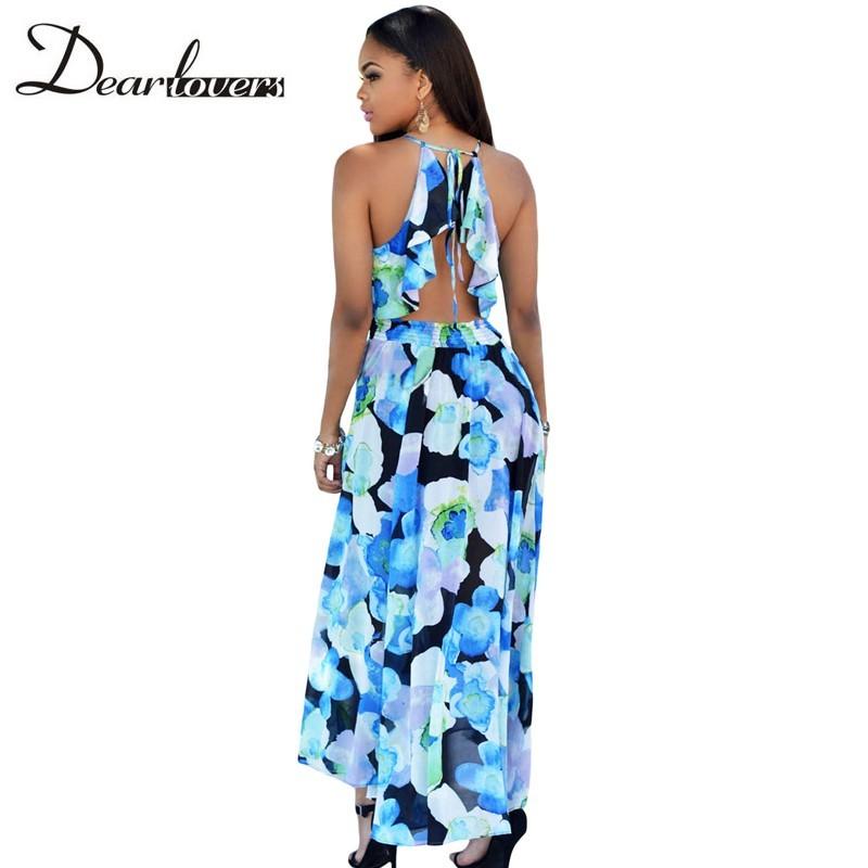 HTB12mOSKFXXXXXXXpXXq6xXFXXXM - Maxi Dress Floral Slit Romper Long Dress JKP062