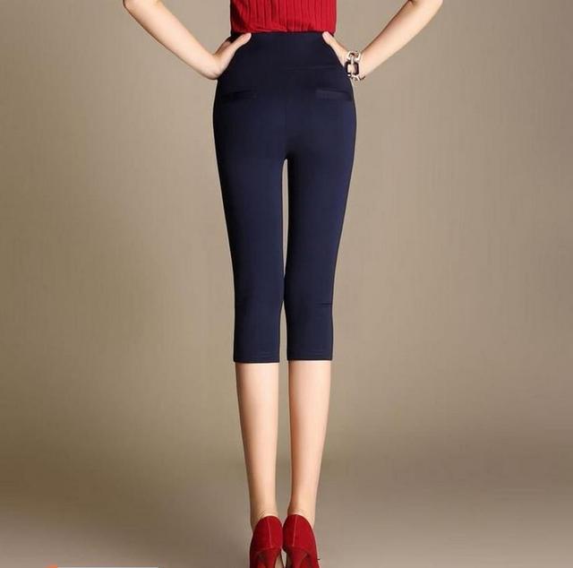 2017 Venta Caliente de La Gasa Pantalones de Las Mujeres del Verano Pantalones Pantalones de Cintura Elástica Con Cordón Pantalones Harem Ocasional Más El Tamaño de Las Mujeres Pantalones