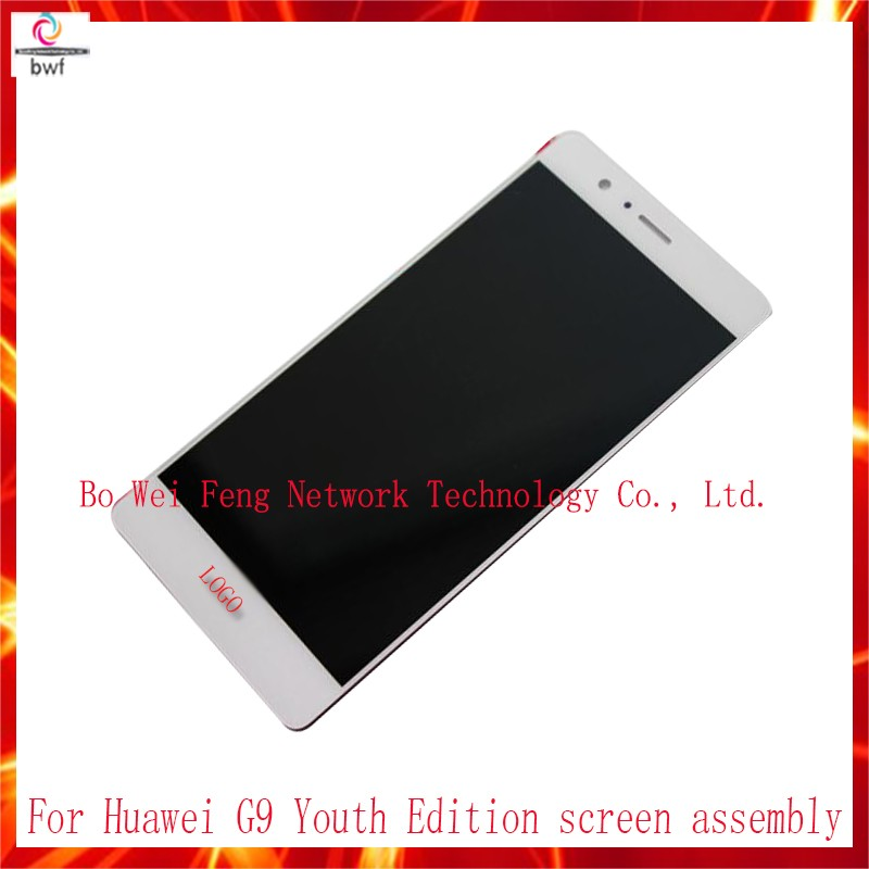 ФОТО 5Pcs/lot DHL EMS for Huawei Ascend G9 Lite G9 Youth Edition VNS-AL00 LCD Display+Touch Screen Digitizer Assembly Free Shipping