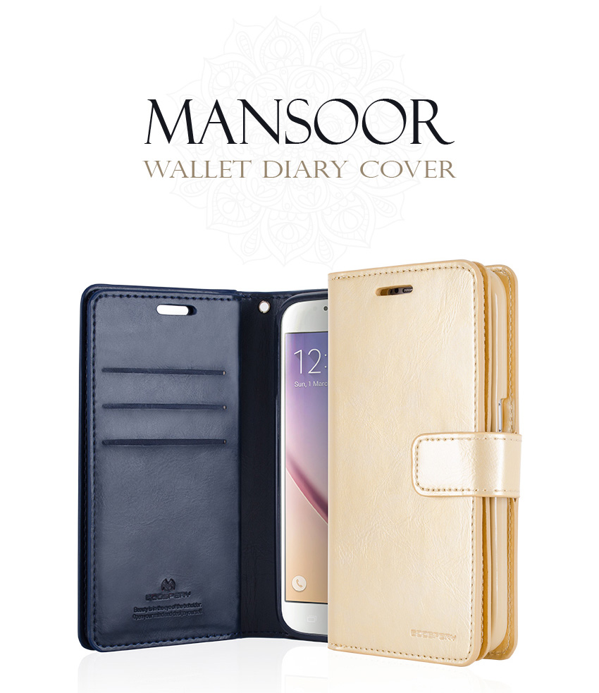 Genuine Mercury Goospery Mansoor Diary Double Wallet Flip Cover Case Samsung Galaxy S8 Canvas Navy For S5 S6 S7 Edge S9 Plus Note 5 8 In Cases From Cellphones