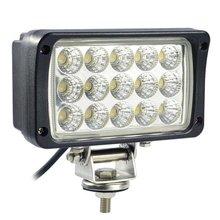 6 inch 45 W LED Trabalho Light 12-30 V DC LED de Condução Offroad Trailer Faixa de luz para o Barco SUV ATV LED Luz de Neblina à prova d' água
