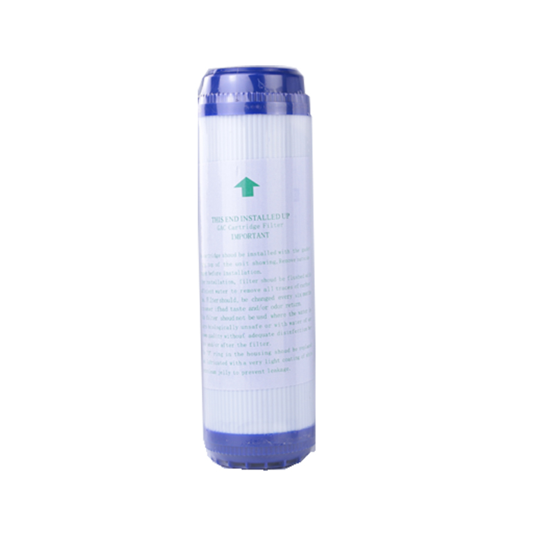 1pcs 10 Inch GAC Granular Activated Carbon Block Water Filter Cartridge Replacement Purifier Water Purifier UDF  Replacement