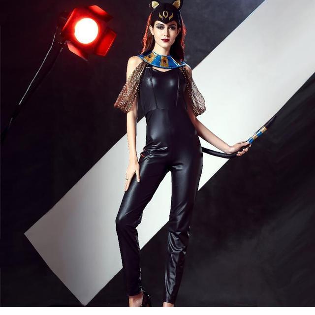 nuovo design dea greca di modo faraone regina 3 pz set costume halloween costume per le