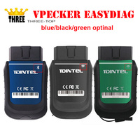 2016 New Arrival Vpecker Easydiag Support Wifi Or Bluetooth OBDII 16Pin Better Than X431 IDiag Work