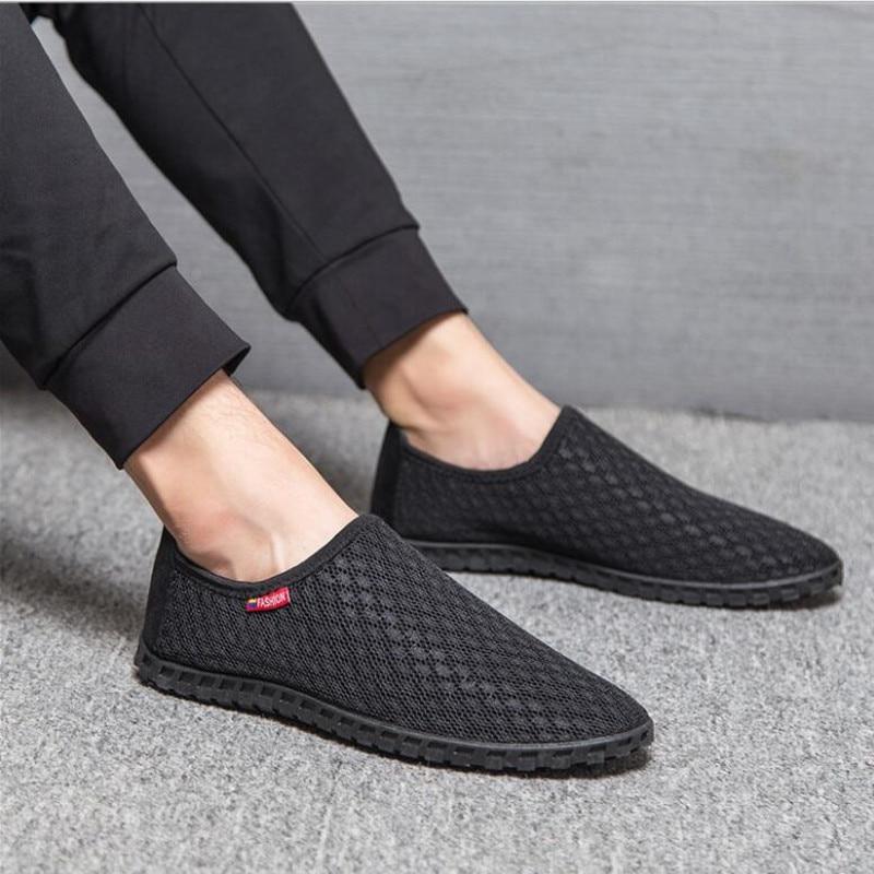 2018 nuevos zapatos de verano respirables de los hombres zapatos - Zapatos de hombre - foto 2