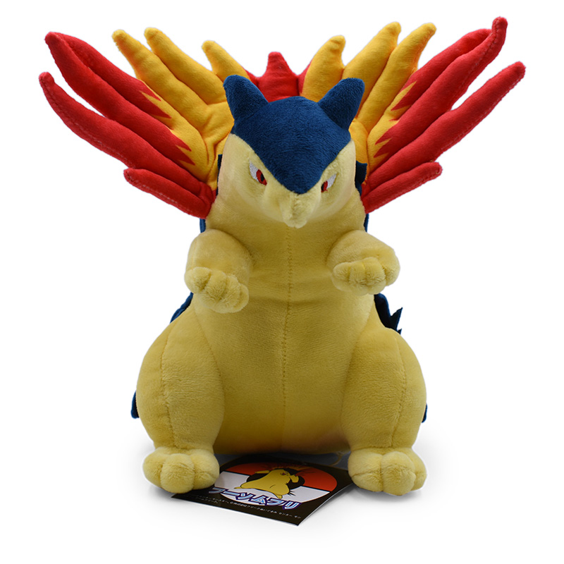 Typhlosion 25CM Soft Animal Dolls For Best Gifts Plush Doll Hot Toys