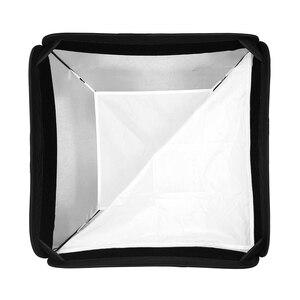 Image 5 - Godox 60 x 60cm 80 x 80cm Folding Portable Bowens Mount Softbox + Honeycomb Grid Studio Strobe Flash Reflective Softbox Diffuser
