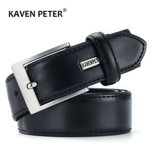 Mens Belts Luxury Business Leather Belt Man Cowhide Genuine