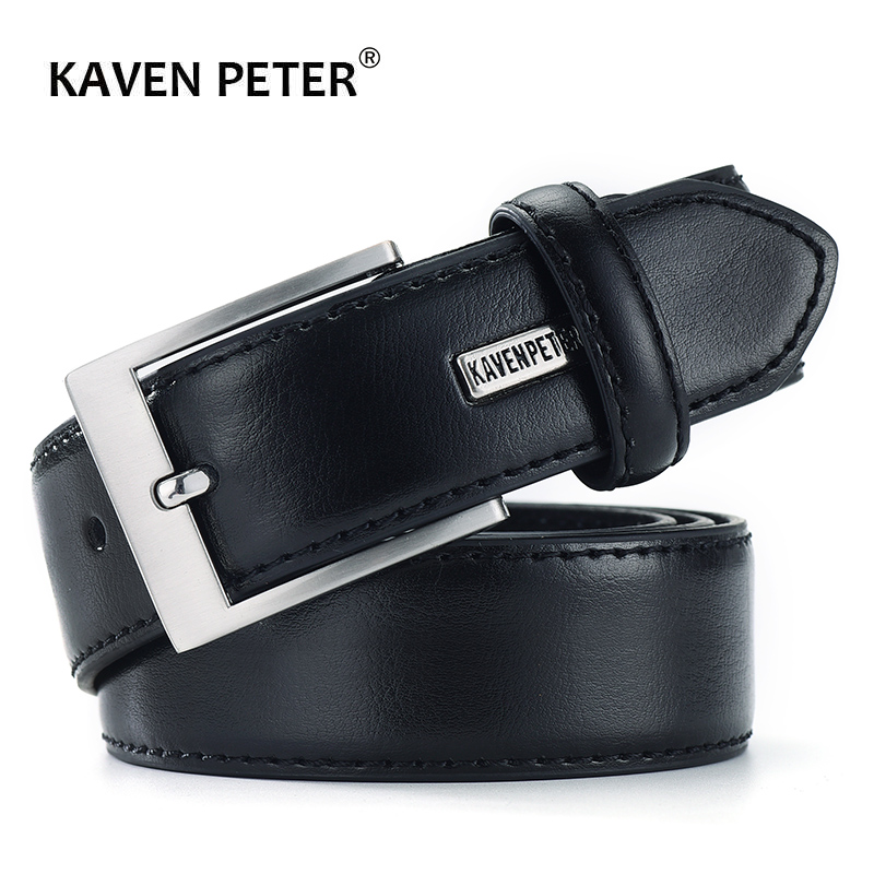 Mens   Belts   Luxury Business Leather   Belt   Man Cowhide Genuine Leather Classic Black Trouser   Belt   Cummerbunds Dropshipping