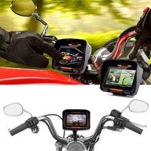 """4,"""" сенсорный экран водонепроницаемый, для мотоцикла, с GPS навигационная система NAV Bluetooth подключение 8 ГБ с кронштейном для мотоциклов Аксессуар"""