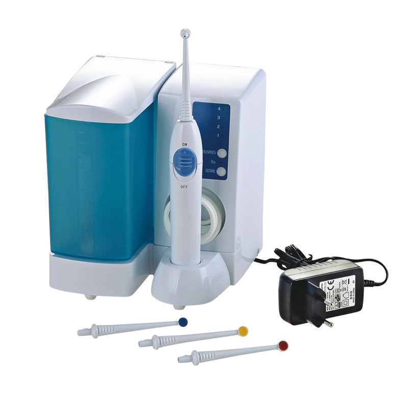 Oral Irrigator Dental Water Jet Power Floss Water Jet Portable Water Flosser Tooth SPA Cleaner Pressure Control With 4 Tips new oral irrigator dental floss care implement pressurre water flosser irrigation hygiene teeth cleaning
