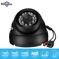 Hiseeu 720P 960P 1080P HD IP Camera Network Security CCTV Camera 2 8mm Wide Angle Mini