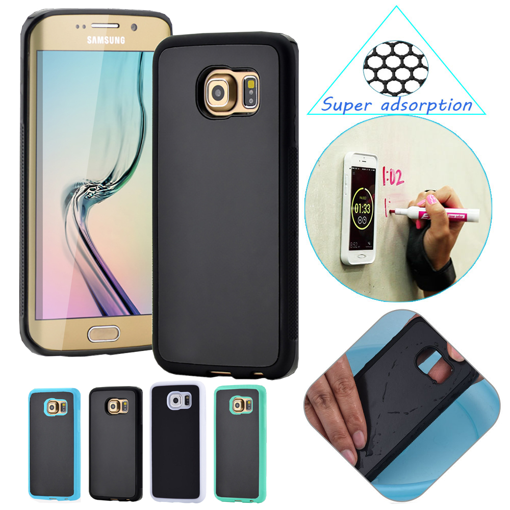 magic case for samsung s6 edge plus s7 s7 edge note5 magical anti gravity nano suction cover. Black Bedroom Furniture Sets. Home Design Ideas