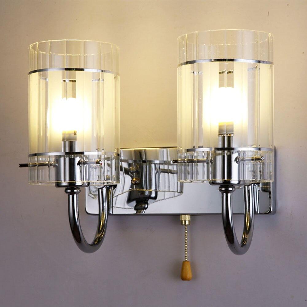 Hghomeart простой e27 светодиодный настенный светильник чтения Лампы для мотоциклов настенный Освещение в помещении настенный прикроватная Лам...
