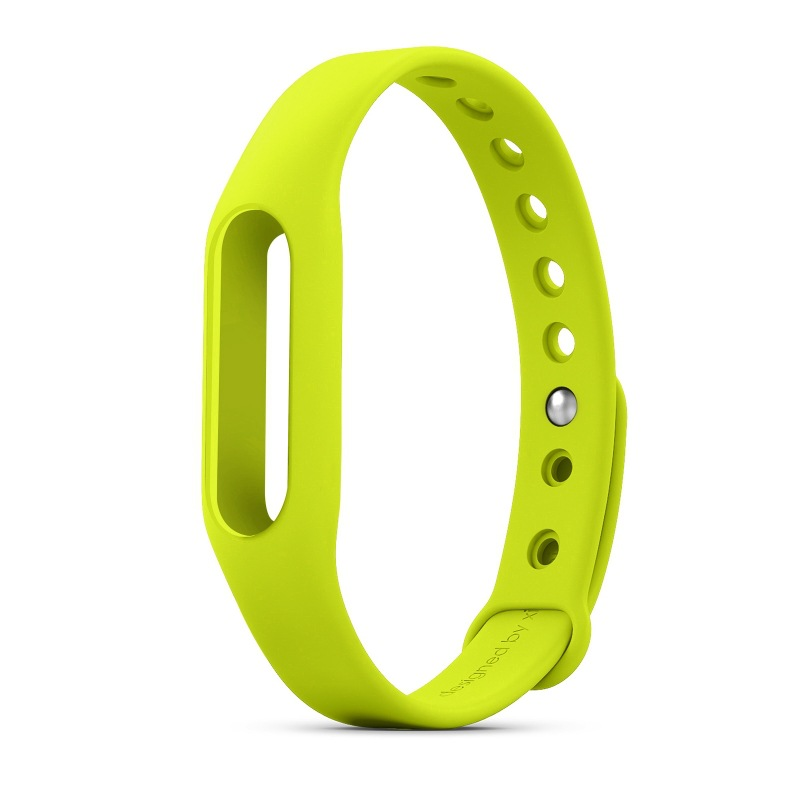 Colorful Silicone Replace Belt Strap For Xiaomi Mi Smart Armbånd Mi Band Armbånd Replacement Band Tilbehør Ikke Original