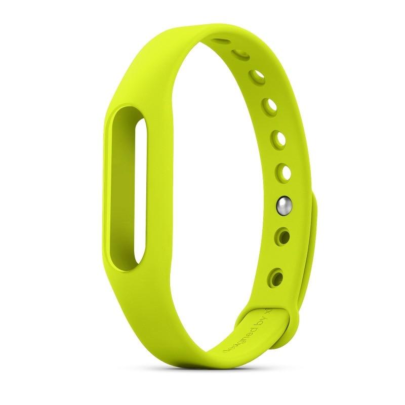 סיליקון צבעוני חגורת רצועת חגורה עבור Xiaomi Mi Smart wristband Mi Band צמיד החלפת הלהקה אביזרים לא מקורי