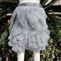 1- 8 Years Chiffon Flower Lace Baby Girl tutu Skirt children lace skirt ballet skirt fantasia free shipping