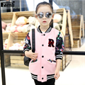 5-12Y Teenage Girls Jacket Spring Autumn 2016 Kids Floral Casual Sport Jacket Coat Children Girl Cardigan Outwear
