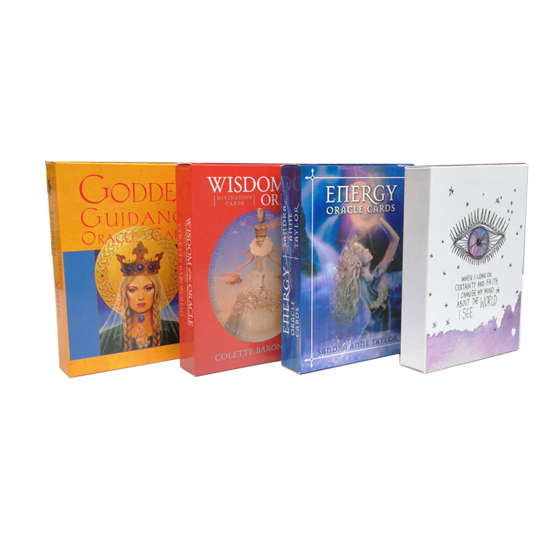 Goddess Guidance Oracle Cards Wisdom Of The Oracle Divination Cards Energy Oracle Cards The Universe Has Your Back(China)