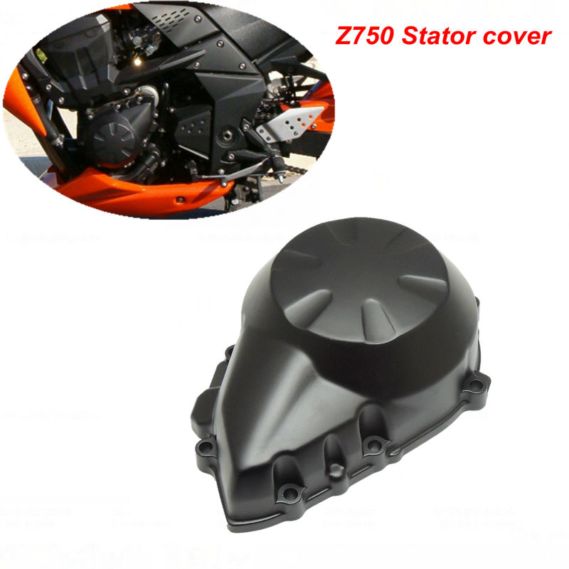 цены Z750 Engine Stator Crank Case Generator Cover For Kawasaki Z750 2007-2009 Aluminum Motorcycle Accessories