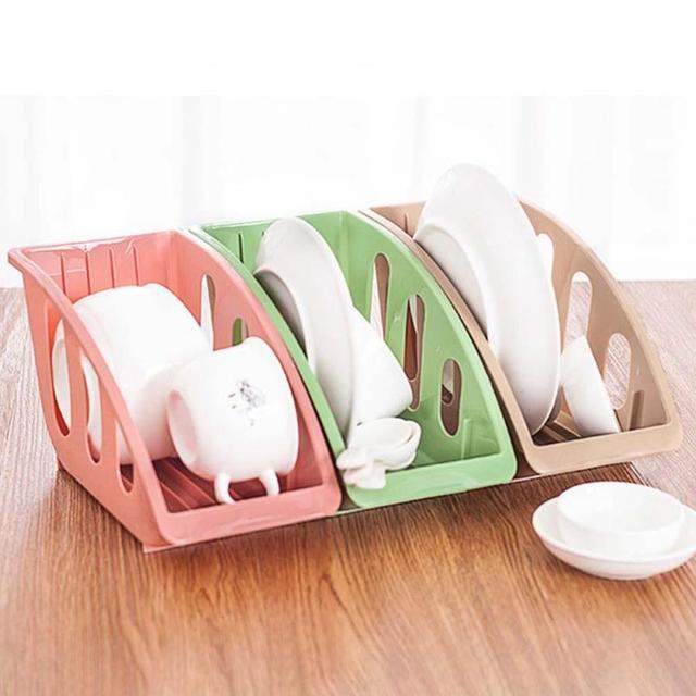 Multifunctional Kitchen Dish Rack Cutlery Draining Tableware Storage Holder  Cup Spoon Bowl Plate Cabinet Dish Shelf