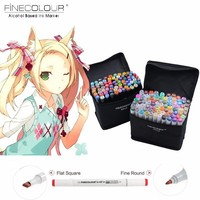 Touchfive 30 40 60 80 Color Manga Art Markers Sketch Markers Alcohol Based Painting Art Stationery