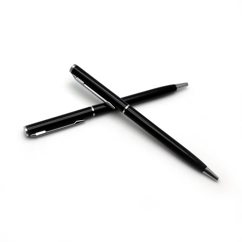 Wholesale 1000PCS/lot Customized advertising pen full metal ballpoint customize promotional add your logo,shipping byDHL